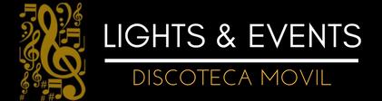 Logo Lights & Events Head